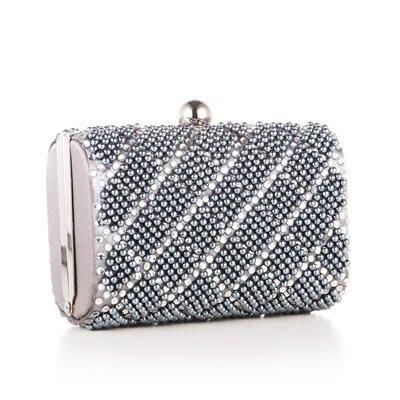 晚宴 包 珍珠手拿包-歐美時尚精緻燙鑽女包包73su14[獨家進口][米蘭精品]