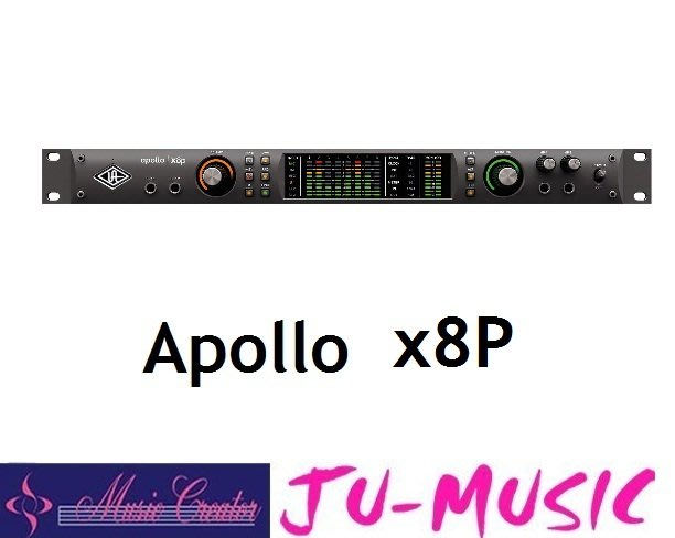 造韻樂器音響- JU-MUSIC - Universal Audio Apollo x8P Thunderbolt
