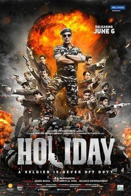 【藍光電影】軍人沒有假期 2014印度最新動作喜劇電影 48-013