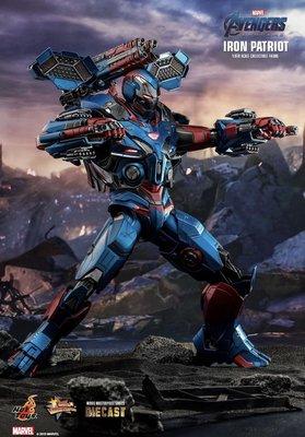 8月6日會員普通版訂單Hot toys (MMS547D34) Avengers Endgame Iron Patriot