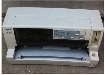 台中西區店面 EPSON LQ 680C 點陣列表機 功能正常 整新 ps另有主機板 電源板 針頭 旋鈕 馬達 零件拆賣