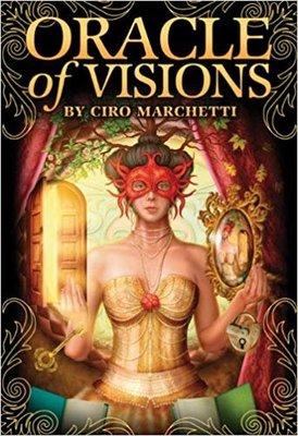【預馨緣塔羅鋪】現貨正版智見神諭卡Oracle of Visions(全新52張)