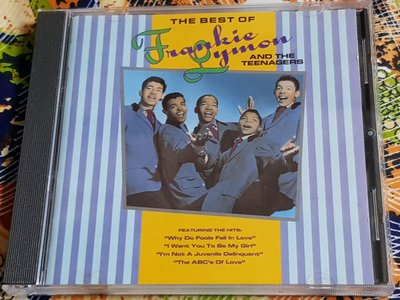 R西洋團(二手CD)THE BEST OF FRANKIE LYMON & THE TEENAGERS ~~無ifpi