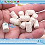 【~魚店亂亂賣~】生物科技頂級高效能多孔柱狀細菌屋/陶瓷棒20p(散裝)培菌過濾陶瓷柱