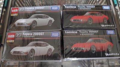 Tomica TOYOTA 2000GT SHOP限定黑盒無碼+一般黑盒