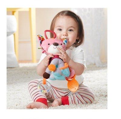 *Lady miu*SKK動物多 車床掛 嬰兒寶寶搖鈴玩具公仔床鈴玩偶 skip hop 同款* 貓咪