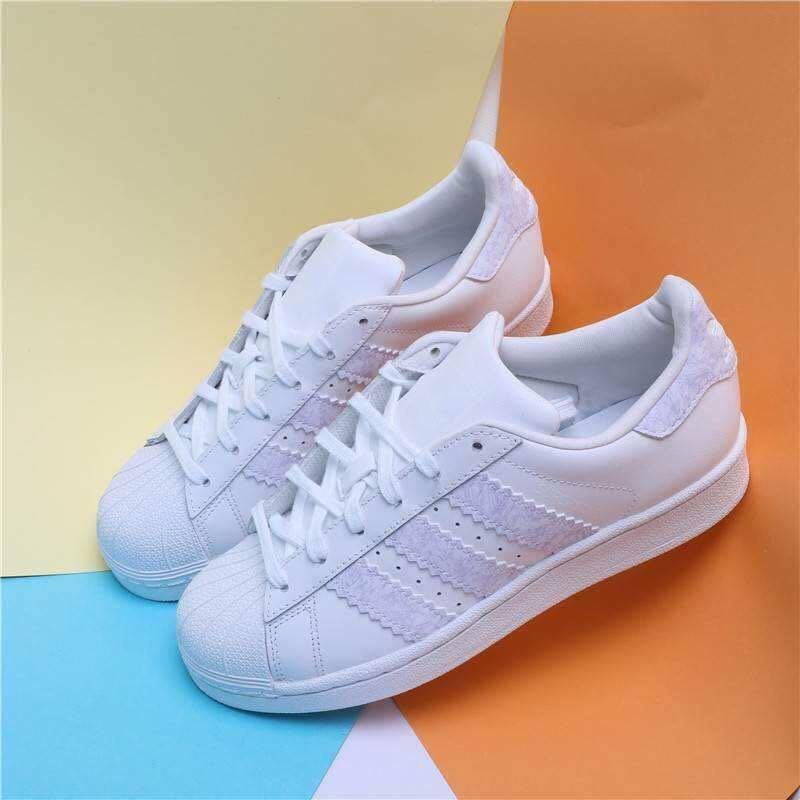 "adidas Originals Superstars 板鞋""白皮大"