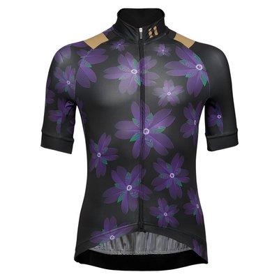(高雄191) Frontier Cerastium Jersey 捲耳紫花男款車衣