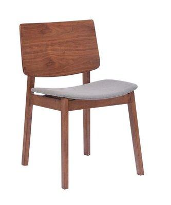 FA-483-8 胡桃布餐椅/大台北區/衣櫃/系統家具/沙發/床墊/茶几/高低櫃/1元起/最低價/高品質