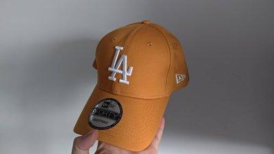 New era 9forty 黃色 芥末黃 LA logo MLB 老帽 棒球帽 全新 現貨 洛杉磯 道奇