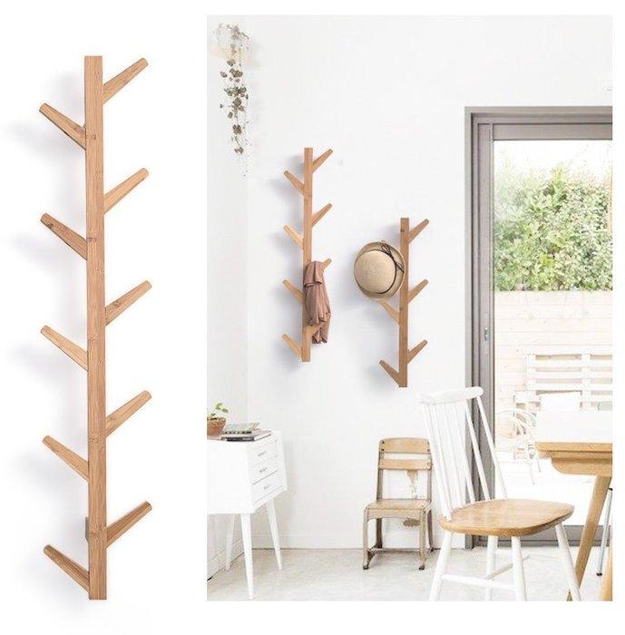 [ Atelier Smile ] 鄉村雜貨 北歐  牆面壁掛架 衣架 樹枝造型 三色選 # 6鉤  (現+預)