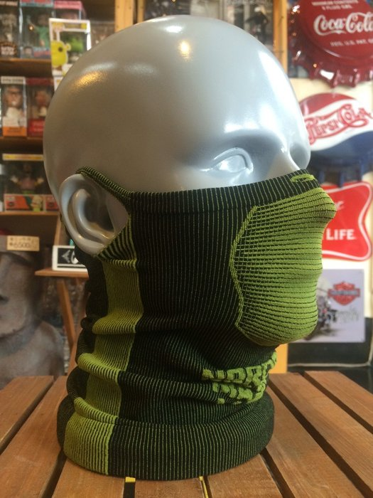 (I LOVE樂多)Naroo Mask墨綠長版X5騎行運動 面罩 單車 哈雷 越野 滑胎 偉士 VESPA Cafe