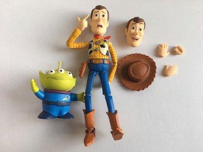 Pixar figure collection 05 胡迪 三眼仔 所見所得 沒有包裝 圖2只供參考