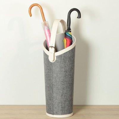 放雨傘的桶皮革歐式家用 球桿球拍畫軸收納創意 插花筒yi   全館免運