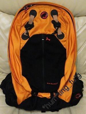 ((套現大平賣)) 正版 Mammut Energise 20 橙黃色 早期款 多用途 越野 背包 背囊 Backpack (連Raincover)