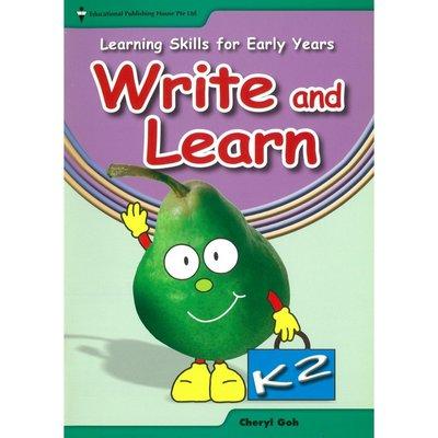 Pre-school Learning Skills for Early Years Write&Learn(K2)寫作