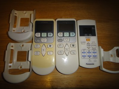 原廠 冷氣機 搖控器 日立 一匹兩匹 Panasonic  每隻$50 另有電視搖控