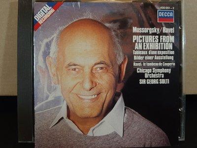 Solti,Moussorgsky-Pictures At an Exhibition etc,蕭提指揮芝加哥交響管弦樂團,演繹穆梭斯基-展覽會之畫等