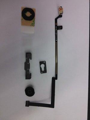 【桃園-虛擬城市】手機維修料件-IPad5 黑色觸控返回排線+Home鍵排線