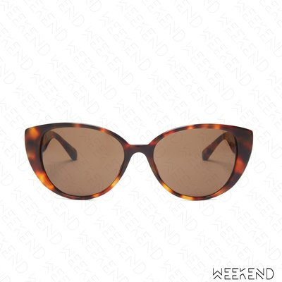 【WEEKEND】 LINDA FARROW Saranden Cateye 圍巾 墨鏡 太陽眼鏡 玳瑁色