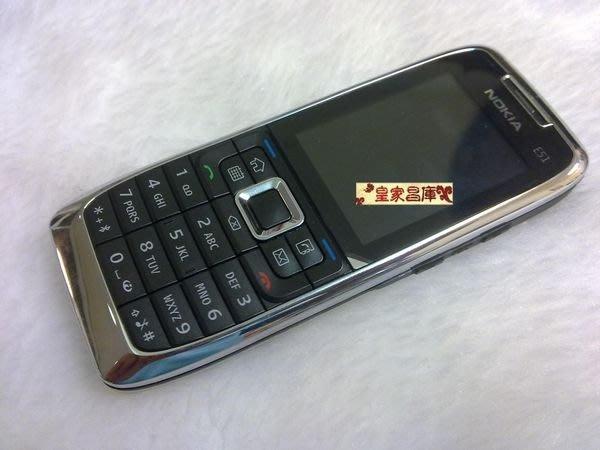 『皇家昌庫』Nokia E51 camera-free S60系統 無照相 實用商務 芬蘭機 免費導航+簽證破解 WIFI