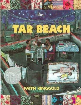 [文閲原版]Tar Beach 瀝青海灘 凱迪克銀獎繪本 進口英文原版 焦油海灘 Faith Ringgold經典作品 名家繪本 大開本平裝 夢想之旅