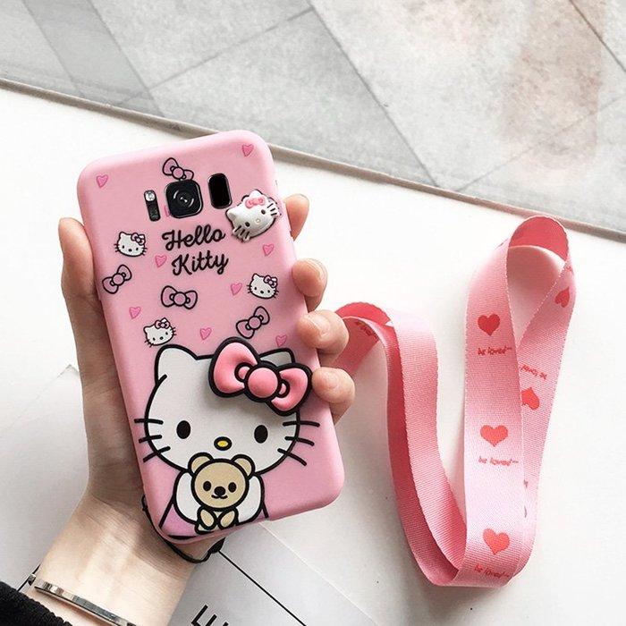 三星手機殼 三星s8/s8+/s8plus/s9/s9+/s9plus手機殼蘋果5/5s/5se可愛立體貼片女款貓狗軟套防摔iphone5s