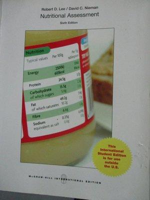 【書寶二手書T6/大學理工醫_YCO】Nutritional Assessment_Robert D. Lee