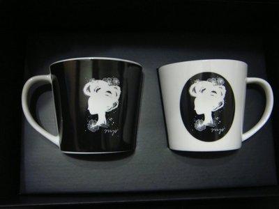 Anja Kroencke獨家設計午茶禮盒*全新(2杯2盤)