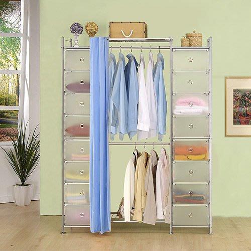 【中華批發網DIY家具】D-60-01-PP+W2+PP型60公分衣櫥櫃-(前罩)不織布