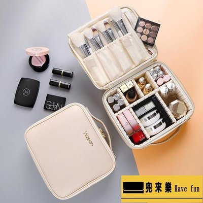 化妝包女便攜大容量多功能簡約lolita收納箱品盒ins風超火網紅【兜來樂】