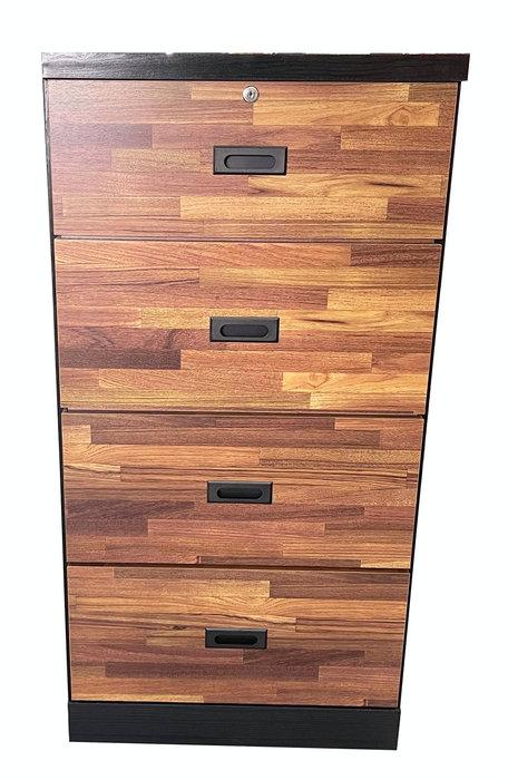 台中二手家具賣場 宏品中古家具館 YQ1205BE*全新集成4斗櫃*臥室家具 櫥櫃 床組 床墊 化妝鏡桌椅 床墊斗櫃
