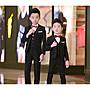 [C.M.平價精品館]現貨110~170CM帥氣黑色、藍色西裝褲  小童/大童