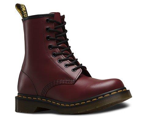 預購 免運費 3F美國代購-100%正品 Dr. Martens 馬汀大夫 1460 8孔 基本款 馬丁靴 櫻桃紅 女款