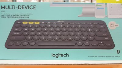 LOGITECH羅技多功能藍牙無線鍵盤K380(三個藍牙裝置可切換使用)-吉兒好市多COSTCO代購