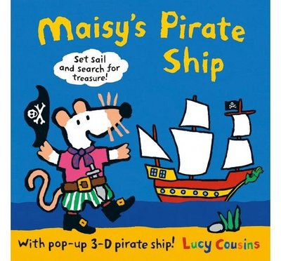 MAISYS PIRATE SHIP:A POP-UP-AND-PLAY BOOK /立體書 小鼠波波海盜冒險 立體書