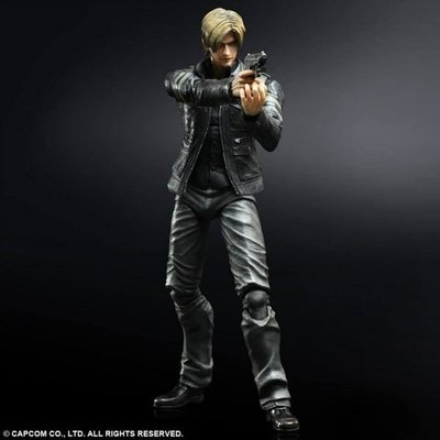 Play Arts改 Resident Evil 6 惡靈古堡6  Leon 里昂 甘迺迪