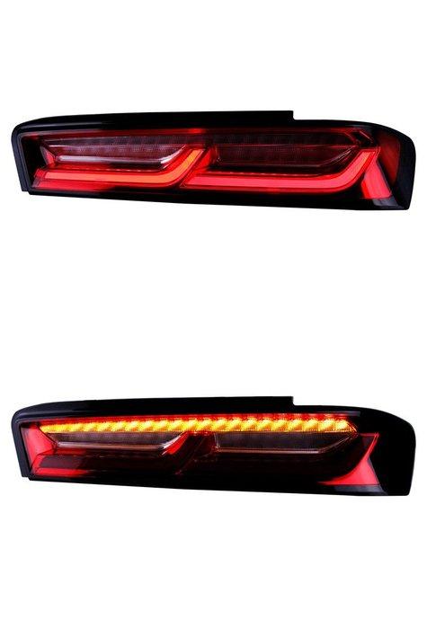 炬霸科技 車燈 CHEVROLET CAMARO 大黃蜂 雪佛蘭 LED 尾燈 後燈 16 17 18 19 科邁羅