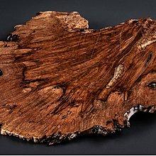 【古珍品】日本茶道具      瘿木天然隨形敷板-1 (可作為茶盤、香爐台、花台、擺件)