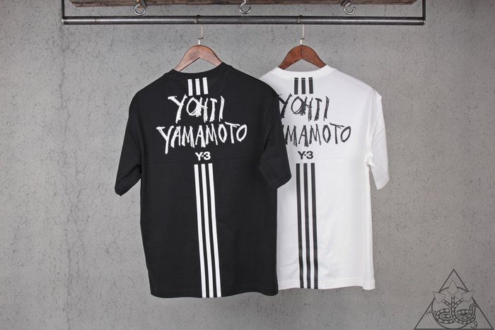 【HYDRA】19 Y-3 Signature Graphic SS Tee 立體 Logo 短T【DY7217】