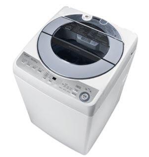 SHARP 夏普 10公斤 無孔槽 變頻直立式洗衣機 * ES-ASF10T *【歡迎來電議價】
