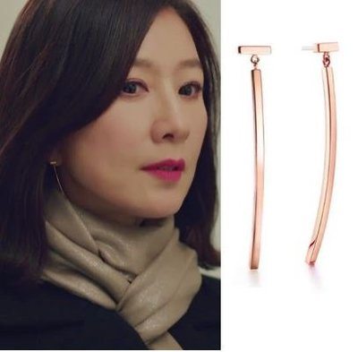 預購-韓劇同款夫妻的世界金喜愛池善雨同款耳環韓素希同款耳飾優雅氣質耳釘女