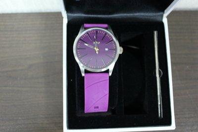 八成新Flower..REX手錶-Spherical Silver系列(S-003)紫