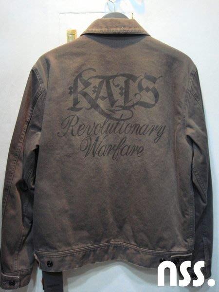 特價【NSS】RATS X NEIGHBORHOOD NBHD C JKT  聯名 夾克 外套 潑漆 老鼠刺繡 鋪棉 M號
