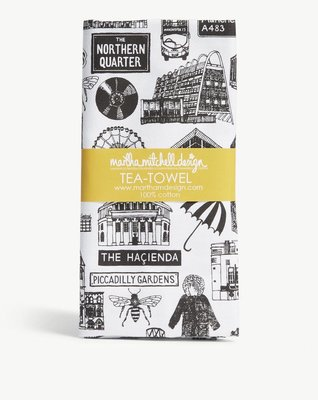 英國MARTHA MITCHELL Manchester cotton tea towel 棉質茶巾(預購)