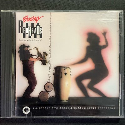 Blazing Readheads紅頭族樂團-熾熱的「騷沙舞」(Salsa)拉丁風的放克爵士 舊版美國版無ifpi