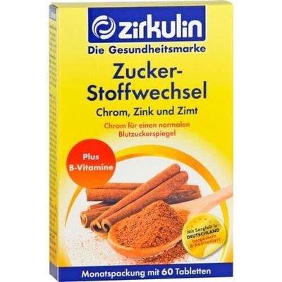 德國 Zirkulin 肉桂糖代謝錠 60錠