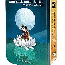 【馨閣塔羅】Sun and Moon Tarot日與月塔羅牌 鐵盒版 【馨閣塔羅】Sun and Moon Tarot日