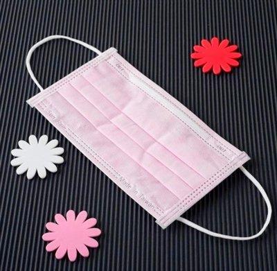瓏如意(22號 櫻花粉)高級防護口罩。一包50片。
