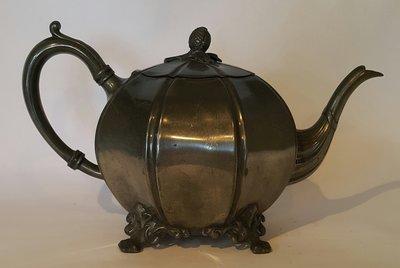 227 高級英國維多利亞鍍銀壺Antique Silver Plate Tea Pot